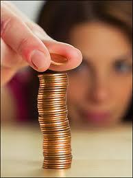 watching pennies
